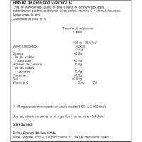 Zumo de piña sin GRANINI, pack 3x20 cl