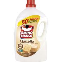 Detergente líquido Marsella OMINO BIANCO, garrafa 50 dosis