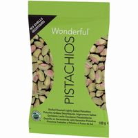 Pistachos pelados WONDERFUL, bolsa 100 g