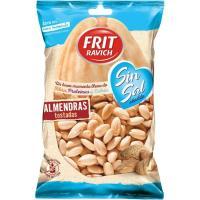Almendras tostadas sin sal FRIT RAVICH, bolsa 110 g