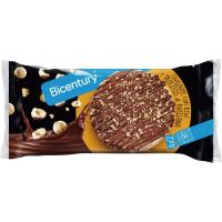 Tortitas de arroz-chocolate-avellana BICENTURY, paquete 141,6 g
