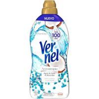 Suavizante concentrado coco&minerals VERNEL botella 72+4 dosis