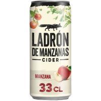 Cider LADRÓN DE MANZANAS, lata 33 cl