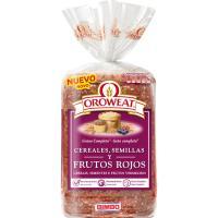 Pan de molde con frutos rojos OROWEAT, paquete 680 g