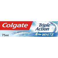 Dentífrico triple acción blanqueante COLGATE, tubo 75 ml