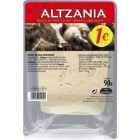 Queso semi ALTZANIA, lonchas, bandeja 90 g