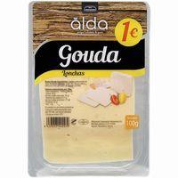 Queso Gouda ALDA, lonchas, bandeja 100 g