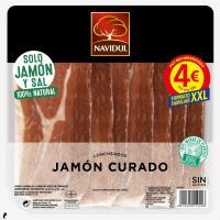 Jamón curado NAVIDUL, bandeja 230 g