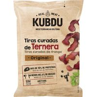 Kubdu tiras de ternera original NOEL, bolsa 25 g