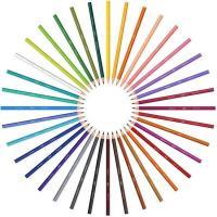 Lápices de colores surtidos Kids Evolution BIC, Caja 36 uds