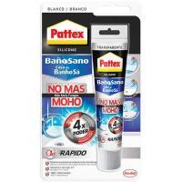 "Silicona para baño ""No Más Moho"" colo blanco, PATTEX, tubo 50ml"