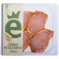 Filete de lomo de cerdo adobado ecológico COREN, bandeja aprox. 320 g