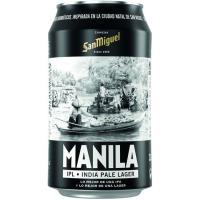 Cerveza Manila SAN MIGUEL, lata 33 cl
