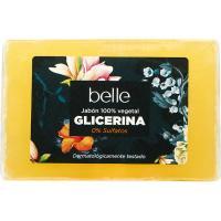Jabón de manos con glicerina belle, pastilla 125 g