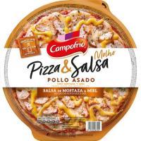 Pizza de pollo-mostaza-miel CAMPOFRÍO, 1 ud., 355 g