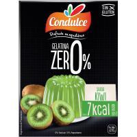 Gelatina zero de kiwi CONDULCE, caja 28 g