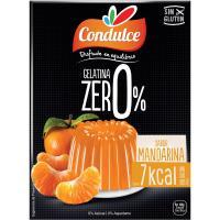 Gelatina zero mandarina CONDULCE, caja 28 g