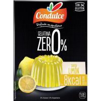 Gelatina zero de limón CONDULCE, caja 28 g