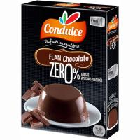 Flan zero de chocolate CONDULCE, caja 27 g