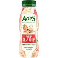 Bebida vegetal de fresa-plátano ADES, botellín 250 ml