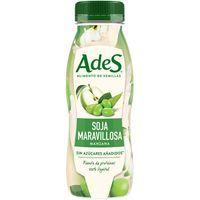 Bebida vegetal de soja-manzana ADES, botellín 250 ml