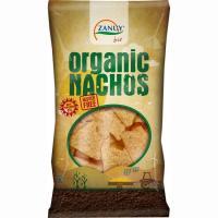 Nachos ecológicos sin gluten ZANUY, bolsa 125 g