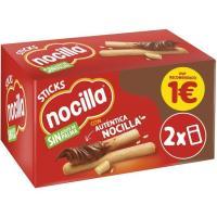 Crema de cacao stick 1 sabor NOCILLA, 2 uds., caja 60 g