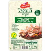 Lonchas vegetarianas-hierbas CAMPOFRÍO Vegalia, bandeja 100 g