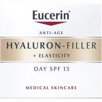 Crema de día +Elasticity EUCERIN Hyaluron-Filler, tarro 50 ml