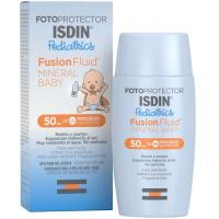 Fotoprotector Fusion Fluid FP50+ ISDIN Pediatrics, bote 50 ml