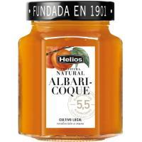 Confitura natural de albaricoque HELIOS, frasco 330 g