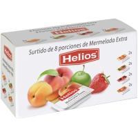 Mermelada surtidas en porciones HELIOS, pack 8x25 g