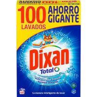 Detergente en polvo DIXAN, maleta 100 dosis