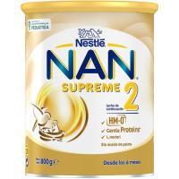 Leche de continuación NESTLÉ Nan Supreme 2, lata 800 g