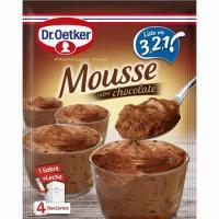 Mousse de chocolate DR.OETKER, caja 73 g