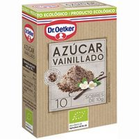 Azúcar vainillado ecológico DR.OETKER, caja 100 g