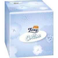 Pañuelo facial cotton FOXY, caja 60 uds.