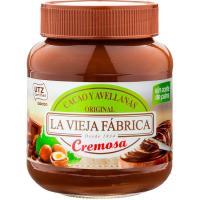 Crema de cacao-avellanas original LA VIEJA FÁBRICA, frasco 350 g