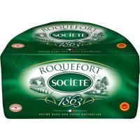 Queso Roquefort SOCIETÉ, al corte, compra mínima 100 g