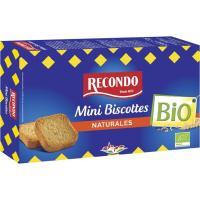 Mini biscotte bio RECONDO, caja 120 g