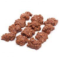 Rocas de chocolate-almendra LA ESTEPEÑA, bandeja 170 g