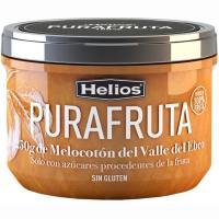 Purafruta de melocotón del Valle del Ebro HELIOS, frasco 250 g