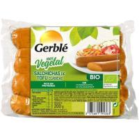 Salchichas de tofú clásicas GERBLÉ BIO, sobre 200 g