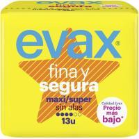 Compresa maxi EVAX F&S, paquete 13 unid.