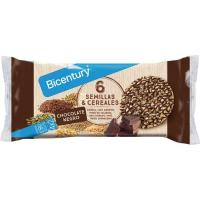 Tortita de choco negro-semillas-cereal BICENTURY, paquete 112 g