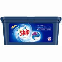 Detergente en cápsulas SKIP Ultimate, caja 32 dosis
