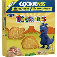Galleta Dinos Cookiens sin azúcar ARTIACH, caja 185 g