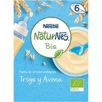 Papilla de trigo-avena NESTLÉ Naturnes Bio, caja 240 g
