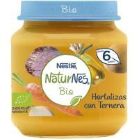 Tarrito de hortaliza-ternera NESTLÉ Naturn. Bio, tarro 190 g