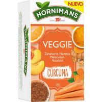 Infusión veggie de cúrcuma HORNIMANS, caja 10 sobres